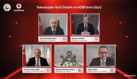 Vodafone yerli ekosisteme yeni KOBİ'ler katmaya hazırlanıyor