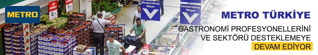 Metro Türkiye gastronomi profesyonellerini ve sektörü desteklemeye devam ediyor
