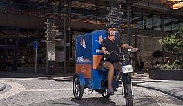 MNG Kargo elektrikli bisikletlerle  dağıtım yaparak doğayı koruyor