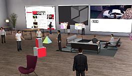 Audi'den sanal ortamda çalışma ve öğrenmeye teşvik: Audi Spaces